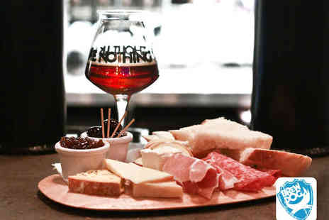BrewDog Bars - Beer Tasting Session with Cheese and Meat Sharing Platter for Two People - Save 56%