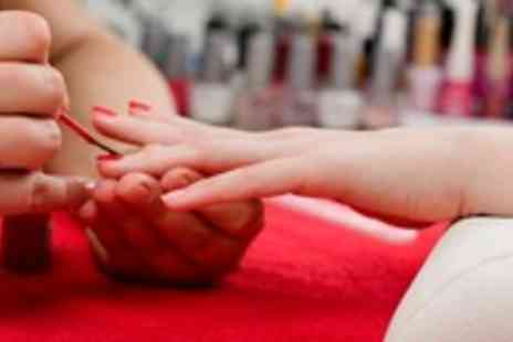 ROXY Beauty - Neck back & shoulder massage with deluxe manicure - Save 60%