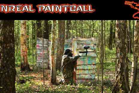Unreal Paintball - Paintball near Birmingham with 100 extra balls one person - Save 82%