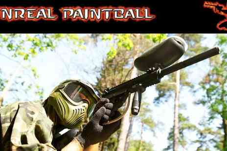 Unreal Paintball - Paintball experience day Midlands - Save 82%