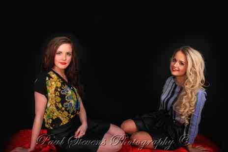 Paul Stevens Photography - Makeover and Photoshoot for 2 Essex - Save 78%