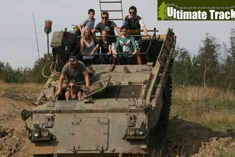 Ultimate Tracks - Yorkshire Off Road Military Tank and Truck Drive Session for One - Save 50%