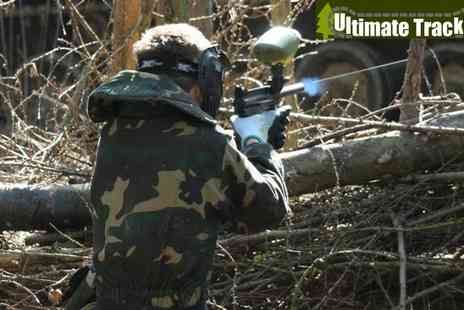 Ultimate Tracks - Paintballing Tank Experience 2 - Save 73%