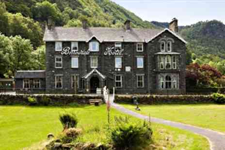 The Borrowdale Hotel - Lake District Break with Dinner & Wine Tasting - Save 41%