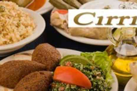 Cirrik - Ten Dish Turkish Meze Meal For Two With Wine - Save 59%