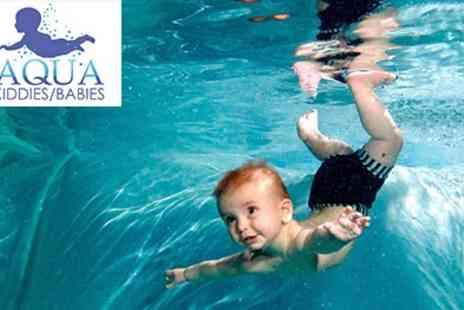 Aquakiddies - 5 Week Swimming Course - Save 50%