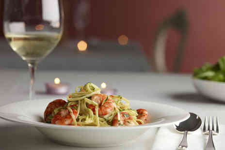 Nicolas Ristorante - Two course Italian meal for 2 including glass of wine - Save 52%