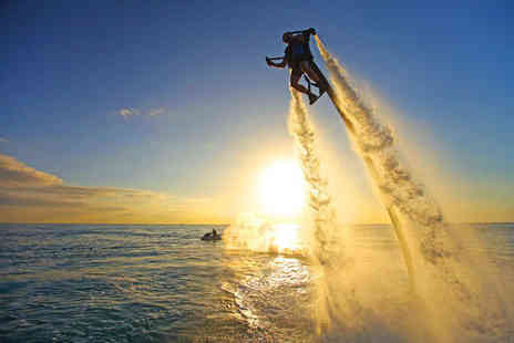 Jetlev Flyer UK - ONE hour JetLev flying experience - Save 34%