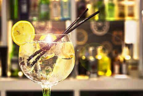 Drinking Classes - Gin tasting class & afternoon tea for 2 people - Save 61%
