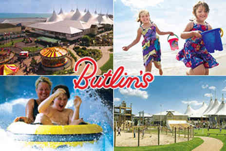 Butlins - Family Passes to Butlins, Great Summer Holiday Fun - Save 50%