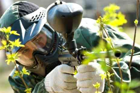 Universal Paintball - Paintballing For One Plus Lunch and Ammo - Save 80%