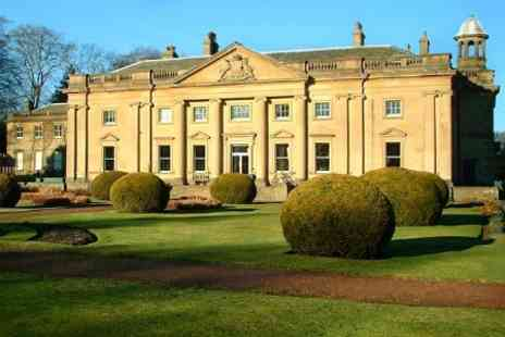 Wortley Hall - In Sheffield One Night 4star Stay For Two With Wentworth Gardens Entry - Save 55%