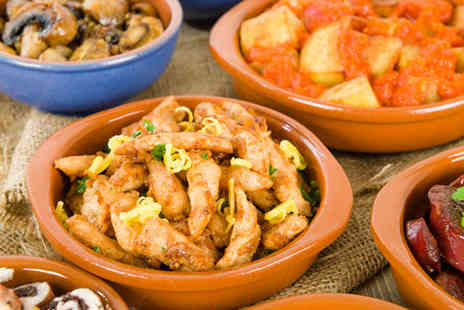 Great Eatery - Five Tapas Dishes to Share Between Two - Save 56%