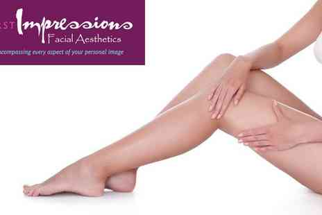 First Impressions Faial Aesthetics - Six Sessions Of Laser Hair Removal in Widnes - Save 87%