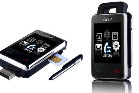 Simply Things - Swap Nova Unlocked Mini Mobile Phone Keyring - Save 30%