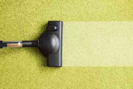 24/7 Express Cleaning - Carpet Solution and Steam Clean for Two Rooms - Save 60%