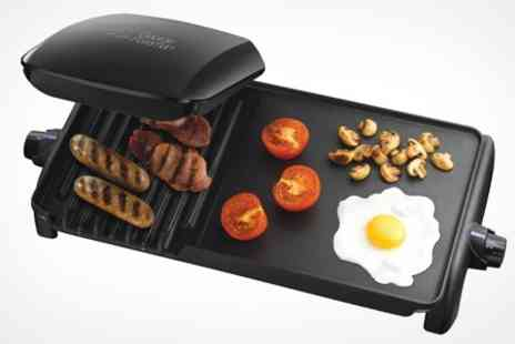 Mahahome.com - George Foreman Grill and Griddle - Save 43%