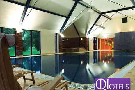 Aldwark Manor Golf & Spa Hotel - Spa Day Pass for Two with Towel Hire, Refreshment and Pastry - Save 85%
