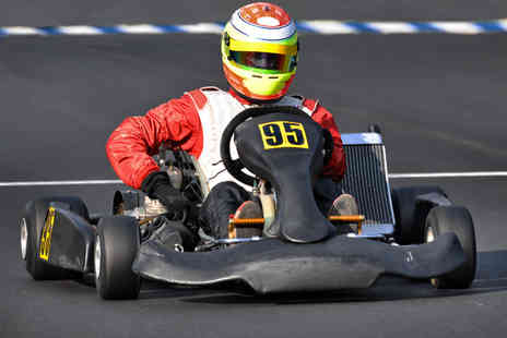 Knockhill Racing Circuit - 25 lap outdoor go karting experience - Save 50%