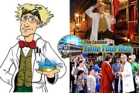 Time Tours - The Magnificent London Time Tour Bus An Entertaining And Insightful Look Into Londons Rich History - Save 45%
