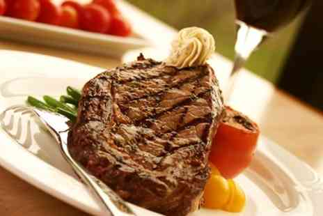 The Corner House - Two Course Steak Dinner With Wine For Two - Save 62%