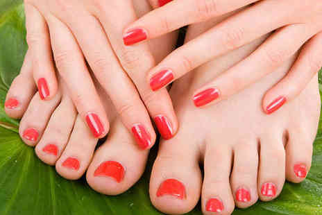 Pure Hair & Beauty - Manicure and Pedicure - Save 64%