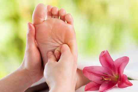 Bliss and Revive - Reflexology session and hot stone foot massage - Save 68%