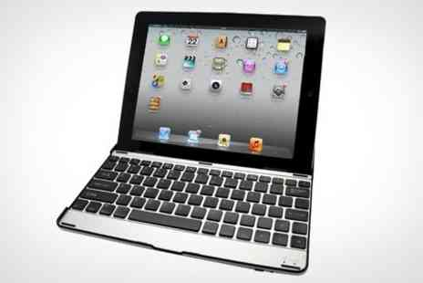 Uerotek - Bluetooth Keyboard and Case for iPad With Cable, Stylus and Screen Protector - Save 60%