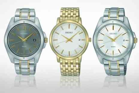 Watch Warehouse - Seiko Mens Watches - Save 63%