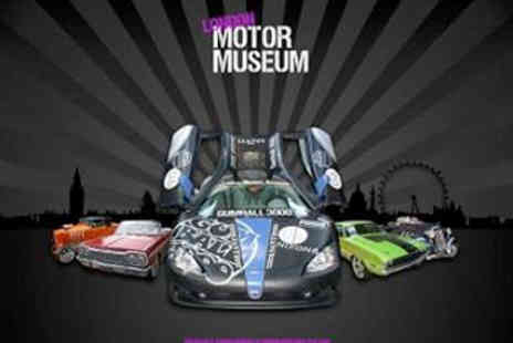London Motor Museum - Tickets To Museum Perfect Family Day Out - Save 38%