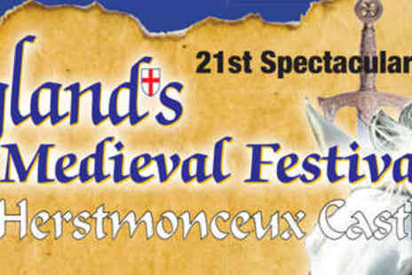 Englands Medieval Festival - Two Adult Day Tickets - Save 21%