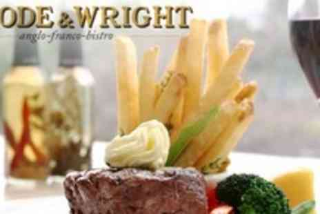 Goode and Wright - Two Course Anglo French Meal For Two With Glass of Wine Each - Save 62%