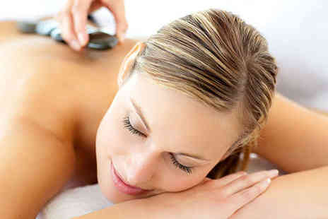 Gifted Hands - Hour Long Hot Stones Swedish Aromatherapy or Massage and Mini Facial - Save 54%
