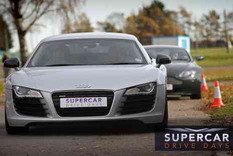 Supercar Drive Days - Supercar Adrenaline Day including two lap drives - Save 43%