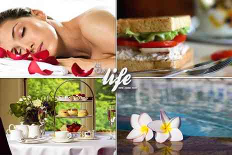 All Your Life - Luxury spa package for two, including 4 hours use of the spa facilities a medical massage bed session - Save 89%