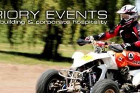Priory Events - Choice of Quad Bike Challenge - Save 63%