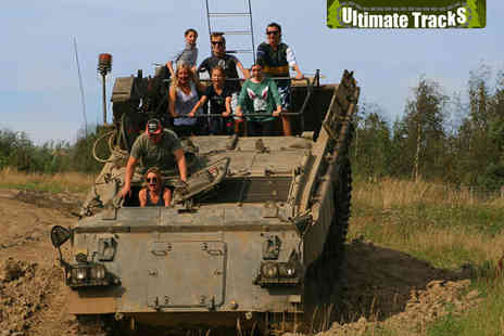 Ultimate Tracks - One Hour Tank Ride Experience for One - Save 50%