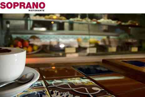 Sopranos Tapas Bar - Choice Of Breakfast With A Coffee - Save 46%