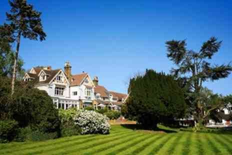 Rowhill Grange Hotel - Kent Spa Hotel Getaway including Dinner - Save 58%