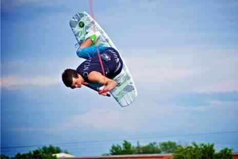 Quayside Wakeboard and Waterski - Wakeboarding or Waterskiing For One Hour - Save 69%