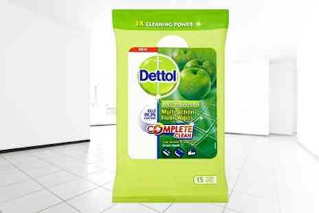 Mahahome.com - Dettol Anti Bacterial Wipes Box of Nine - Save 42%