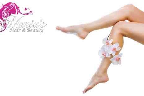 Marias Hair and Beauty - Full Leg And Bikini Wax - Save 50%