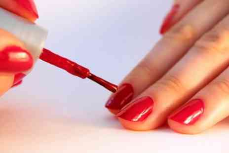Glamour Hair & Beauty - Shellac Manicure - Save 68%
