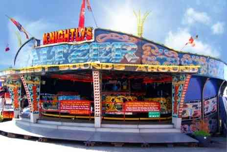 Knightlys Funfair - Group Entry - Save 50%