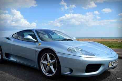 Golden Moments - Ferrari 360 Motorway Driving Experience - Save 60%