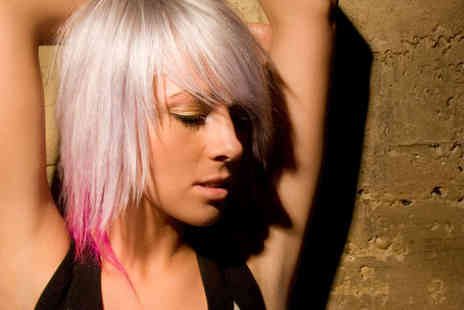Amadeus Hair & Body - Haircut and Finish with a Half Head of Highlights Dip Dye - Save 72%