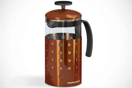 Maxwell & Dawsons - Morphy Richards 8 Cup Cafetiere - Save 52%