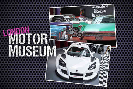 London Motor Museum - Adult ticket to the London Motor Museum - Save 73%