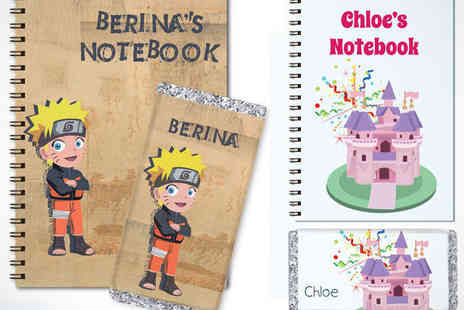 Star Stories - Personalised A5 Notebook and 100g Chocolate Bar Set - Save 51%