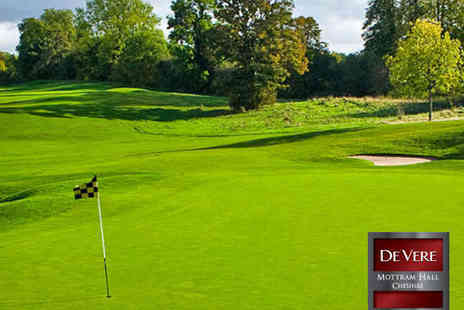 De Vere Mottram Hall - 18 Holes of Golf for One People - Save 73%